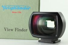 [ Mint in Box ] Voigtlander 35mm View Finder Black from Japan