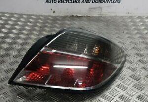 VAUXHALL ASTRA H SMOKED REAR LIGHT & BULB HOLDER DRIVERS 3 DOOR SRI SXI 04-10