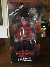Living Dead Dolls Nightmare on Elm Street Freddy Krueger with Sound
