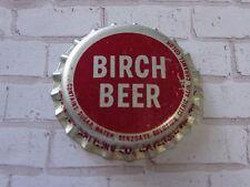 Beer Bottle CORK Crown Cap: The HOWDY Corporation 7-Up Birch Beer Soda Pop Drink