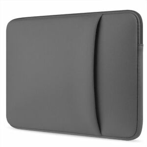 """Zip Case Cover Bag Pouch Fits LENOVO IdeaPad Flex 5i 13.3"""" With Charger Pocket"""