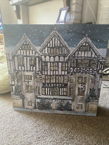 Liberty beauty advent calendar 2020 EMPTY with Shredded Tissue In Drawers