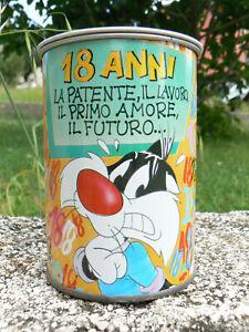 NUOVO Barattolo Molla con sorpresa Warner Bros 16 vintage