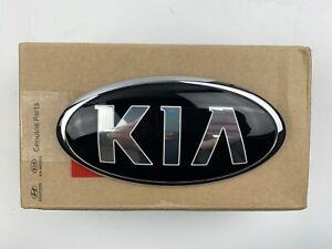 Rear Trunk Lid Emblem Kia Logo Mark Sedona Sorento Telluride OEM Badge Ornament