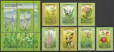 2002 Uzbekistan Flora Flowers MNH