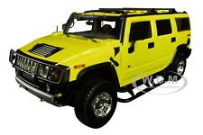 "2003 HUMMER H2 YELLOW ""ENTOURAGE"" TV SERIES 1/18 DIECAST CAR BY HIGHWAY 61 18015"