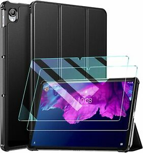 For Lenovo Tab P11 Smart Case Stand Cover & Glass Screen Protector
