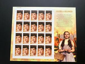 """Rare """"LEGENDS OF HOLLYWOOD"""" (2006) -Full Mint Sheet of 20 USA Postage Stamps"""