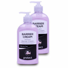Clover Barrier Cream 2 x 300ml Medicated Hand Protection Moisturiser Work UK