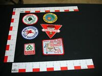 Oil and Gas Advertising vintage patch collection set lot