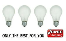 60 Watt Incandescent Light Bulbs Soft White 600 Lumens Household - 4 Bulbs
