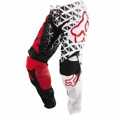 Red/White Sz 28 Fox Racing 360 Given Pants