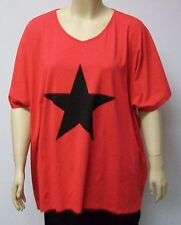 DELUCA,DENMARK,BIG RED SHIRT WITH STAR,THEIR SIZE 54. 95% COTTON AND 5%SPANDEX.