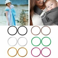 2Pcs/Set Baby Carriers Aluminium Baby Sling Rings For Baby Carriers & Slings