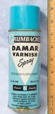 Vintage Grumbachers Damar Varnish Spray Advertising Packaging mv