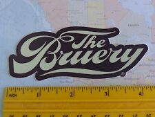 BEER STICKER ~*~ The BRUERY Wild and Sour Ales ~*~ Placentia, CALIFORNIA Brewery