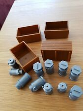Britains model Farm Potato boxes And Other Churns Plastic