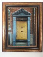 Jimmy Nong Door #8    Original Oil on Panel Board, Framed