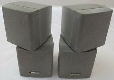 BOSE Doppel-Cube 2 Stück Lautsprecher Silber Lifestyle Acoustimass 5 10 15 Cubes