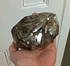 Exceptional XL Smokey Skeletal Herkimer Diamond - Genuine from NY USA