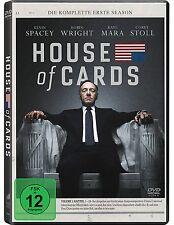 House of Cards - Die komplette erste Season [4 DVDs](NEU/OVP) Im Schuber