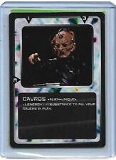 Doctor Who - CCG Card Game Ultra Rare Card Davros MMG - 1996