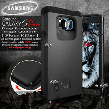 Samsung Galaxy S6 Active Tough Case Hybrid Slim Hard Protective Cover G890A AT&T