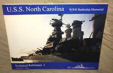 USS North Carolina WW2 Battleship Memorial Tech Ref 1 Randall Shoker