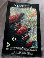 Matrix Comics 2003 Burlyman Mckeever Bagge Neil Gaiman Gibbons PROMO Poster VGFN