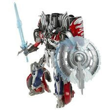 Transformers Platinum edition silver knight Optimus Prime Action Figure