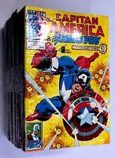 CAPITAN AMERICA & I VENDICATORI n.1-49 SEQUENZA COMPLETA Star Comics Marvel 1990