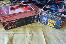 Vintage 1988 Star Wars & 1989 Indiana Jones Trilogy VHS Box Sets