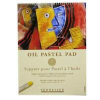 Sennelier Professional Artists oil pastel paper pad protective sheet drawing