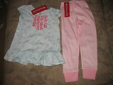 American Girl CL BITTY BABY LAMBIE PAJAMAS for Girl Size LARGE 6-6X NEW