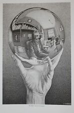 M.C. Escher print Hand with Reflecting Globe Sphere
