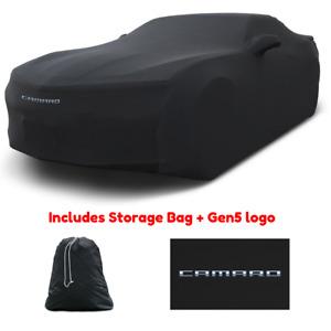 Coverking MODA Stretch Indoor Car Cover for 2010-2015 Camaro 5 w/logo + bag
