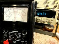 Simpson 260 6 Multimeter In Roll Top Case Completely Tested In Exc Condition