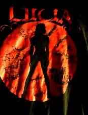 KMFDM LUCIA LAND OF THE VOLCANOS LONG SLEEVED SHIRT VINTAGE L
