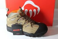 WOLVERINE DURANT WPF STEEL-TOE MENS WORK BOOT, SAFETY RATED, LIGHT BROWN, W02625