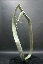 "Pati Stajcar Blade Praying Mantis Insect Bronze Sculpture 78"" Tall Ltd Ed of 12"