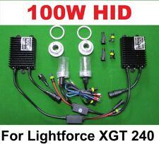 100W 8000K Fast Start HID Conversion Kit for Lightforce XGT 240 Spot Light