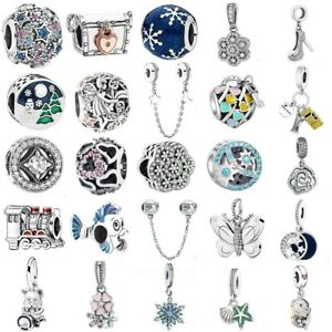 925 sterling European Silver Charms Bead For Chain Bracelet Bangle Necklace