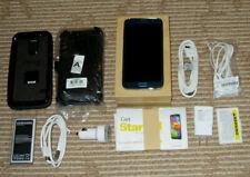 Samsung Galaxy S5 Blue 16GB Phone Bundle! Sprint Only! w/Box + Clean ESN! NICE