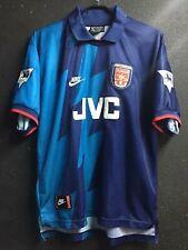 1995-96 Arsenal Away Shirt Bergkamp #10 In All Sizes By Nike S M L XL XXL