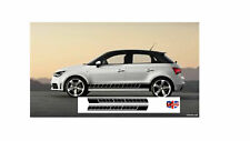 AUDI A1 SIDE STRIPES SLINE  S1 SPORTBACK  TECHNOLOGY DECALS GRAPHICS 2010 - 2018