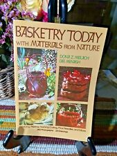 Basketry Today With Materials From Nature