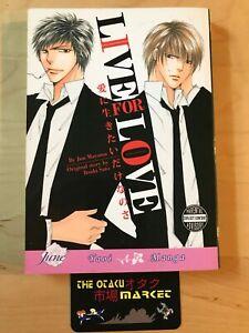 Live For Love by Jun Mayama / NEW Yaoi manga from June