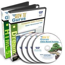 HTML 5 and Adobe Dreamweaver CS5 Web Site Design Training 31 hrs 4 DVDs