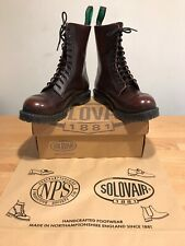 NPS SOLOVAIR Burgundy 11 Eye Steel Toe Derby Boot! SizeUK11! New! Only £149.90!
