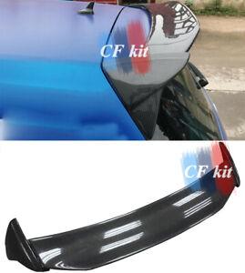 Fit For 14-18 VW Golf VII 7 MK7 MK7.5 Carbon Fibre Rear Roof Spoiler Wing Lip